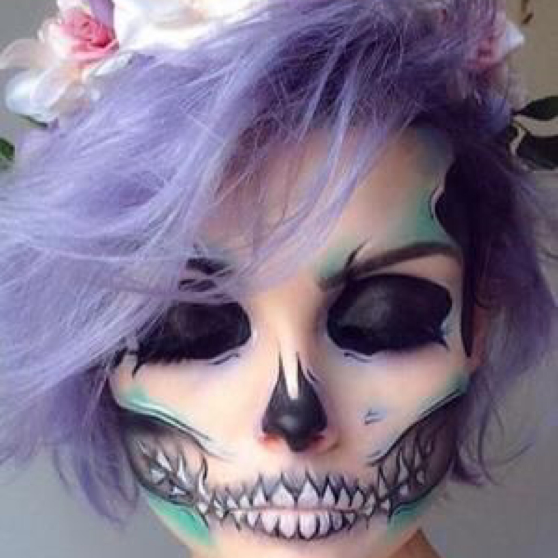 Макияж на хэллоуин скелета фото