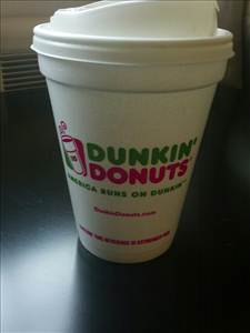 Dunkin' Donuts Coffee with Cream & Sugar - Photo