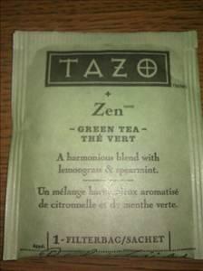 Tazo zen tea nutrition