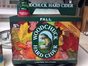 Woodchuck cider fall