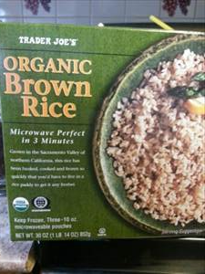 Trader Joe S Organic Brown Rice Photo
