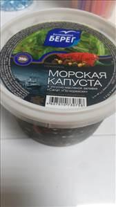 морская капуста по корейски калорийность