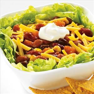 Vegetarian Chili Salad - Recipe Details