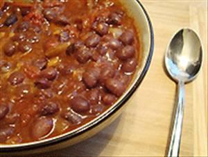 Vegan Black Bean Chili - Detalles de Receta