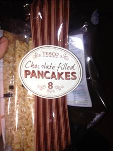 Tesco Chocolate Filled Pancakes Photo