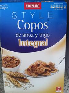 Hacendado Copos De Arroz Y Trigo Integral Photo