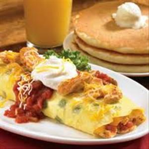 Ihop Chicken Fajita Omelette Photo