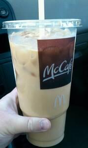 McDonald's Caramel Iced Coffee (Large) - Photo
