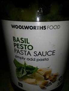 Woolworths Basil Pesto Pasta Sauce Photo